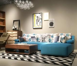 曲美家具,美人榻,实木家具