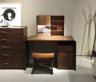曲美家具,梳妆凳,实木家具