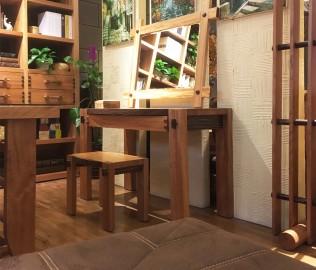 北欧艺家,妆凳,实木家具