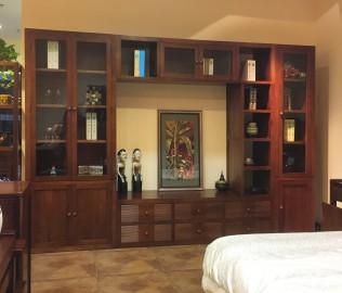 森林之源,组合厅柜,实木厅柜