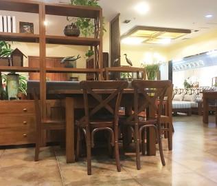 森林之源,方圆桌,餐桌