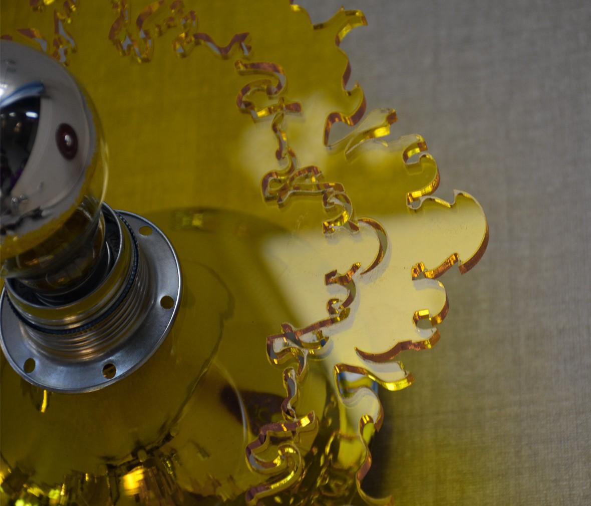 阿尼玛灯饰 W-011S型号黄色走廊壁灯 PVC材质 创意壁灯  图片、价格、品牌、评测样样齐全!【蓝景商城正品行货,蓝景丽家大钟寺家居广场提货,北京地区配送,领券更优惠,线上线下同品同价,立即购买享受更多优惠哦!】
