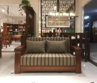 莫霞家居,双人沙发,实木家具
