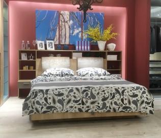 飞美家具,双人床,功能床