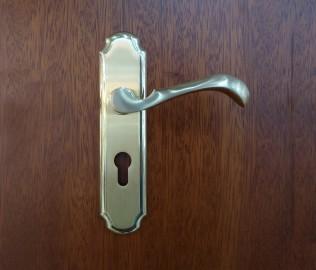 晾霸五金,锁,铜材质