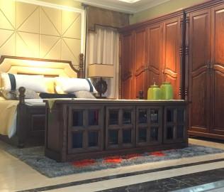 欧嘉璐尼,电视柜,实木家具