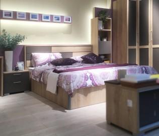 飞美家具,双人床,板材床