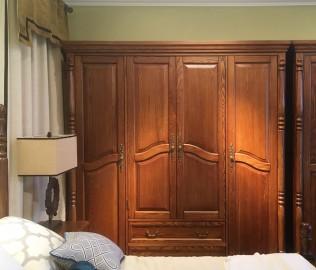 欧嘉璐尼,四门衣柜,实木衣柜