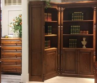 欧嘉璐尼,角书柜,实木书柜