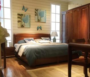 华鹤家具,床,双人床