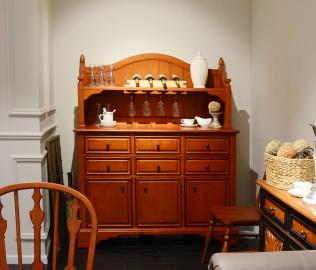 奶酪王国,餐边柜,实木家具