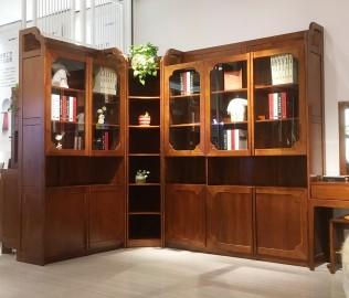 联邦家居,三门书柜,书柜