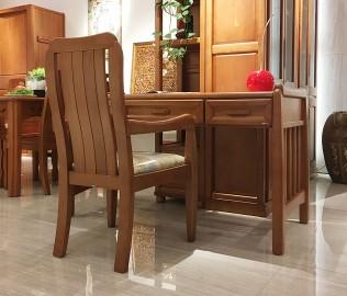 联邦家居,书桌,实木书桌