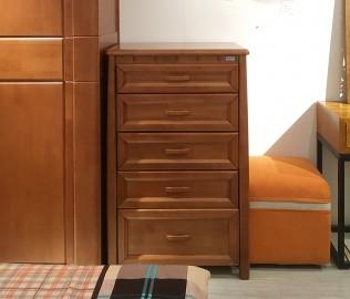 联邦家居,五斗柜,实木屉柜