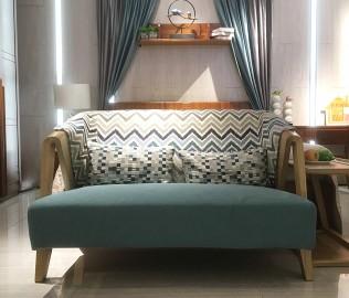 联邦家居,双人沙发,实木沙发