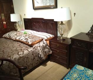名匠木坊,床头柜,实木家具