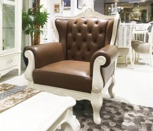 长实北欧,单人沙发,实木沙发