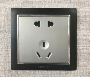 欧普照明,五孔插座,电源插座