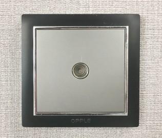 欧普照明,电视插口,插座面板
