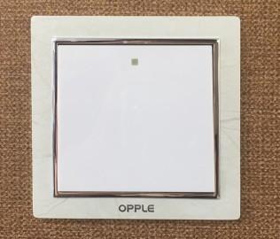 欧普照明,单开开关,开关面板