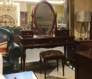 帕特丽夏,妆凳,实木家具