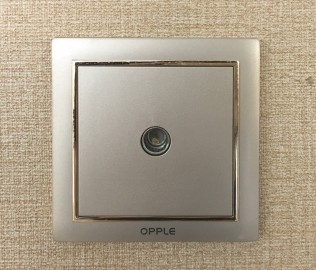 欧普照明,插座,电视接口