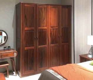 绿芝岛,四门衣柜,实木衣柜