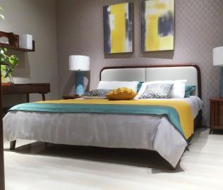 绿芝岛,双人床,床