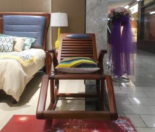 绿芝岛,躺椅,实木家具
