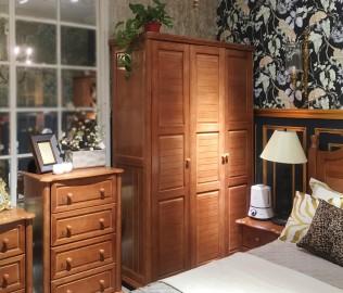 多喜爱,三门衣柜,实木衣柜