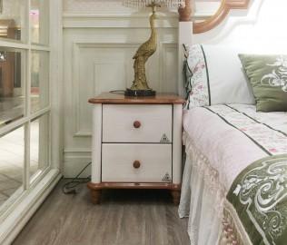多喜爱,床头柜,实木家具