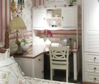 多喜爱,转角书桌,实木书桌