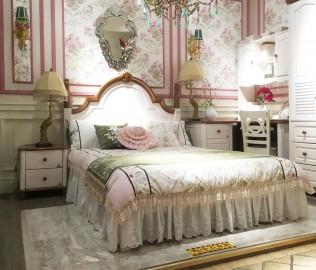 多喜爱,单床,实木床