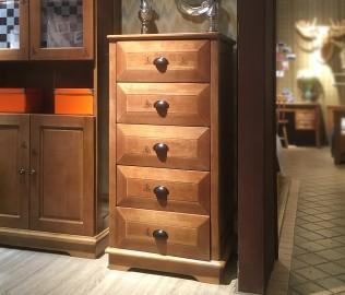 多喜爱,五斗柜,实木斗柜
