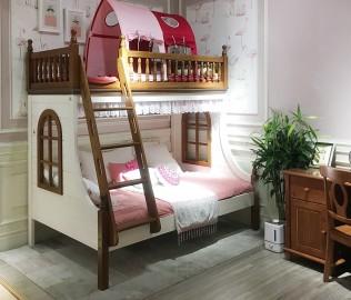 多喜爱,上下床,实木家具