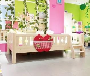 松堡王国,矮床,实木床