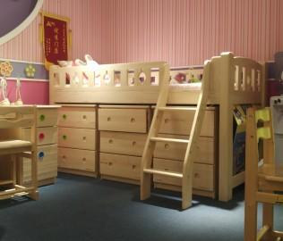 松堡王国,半高床,床