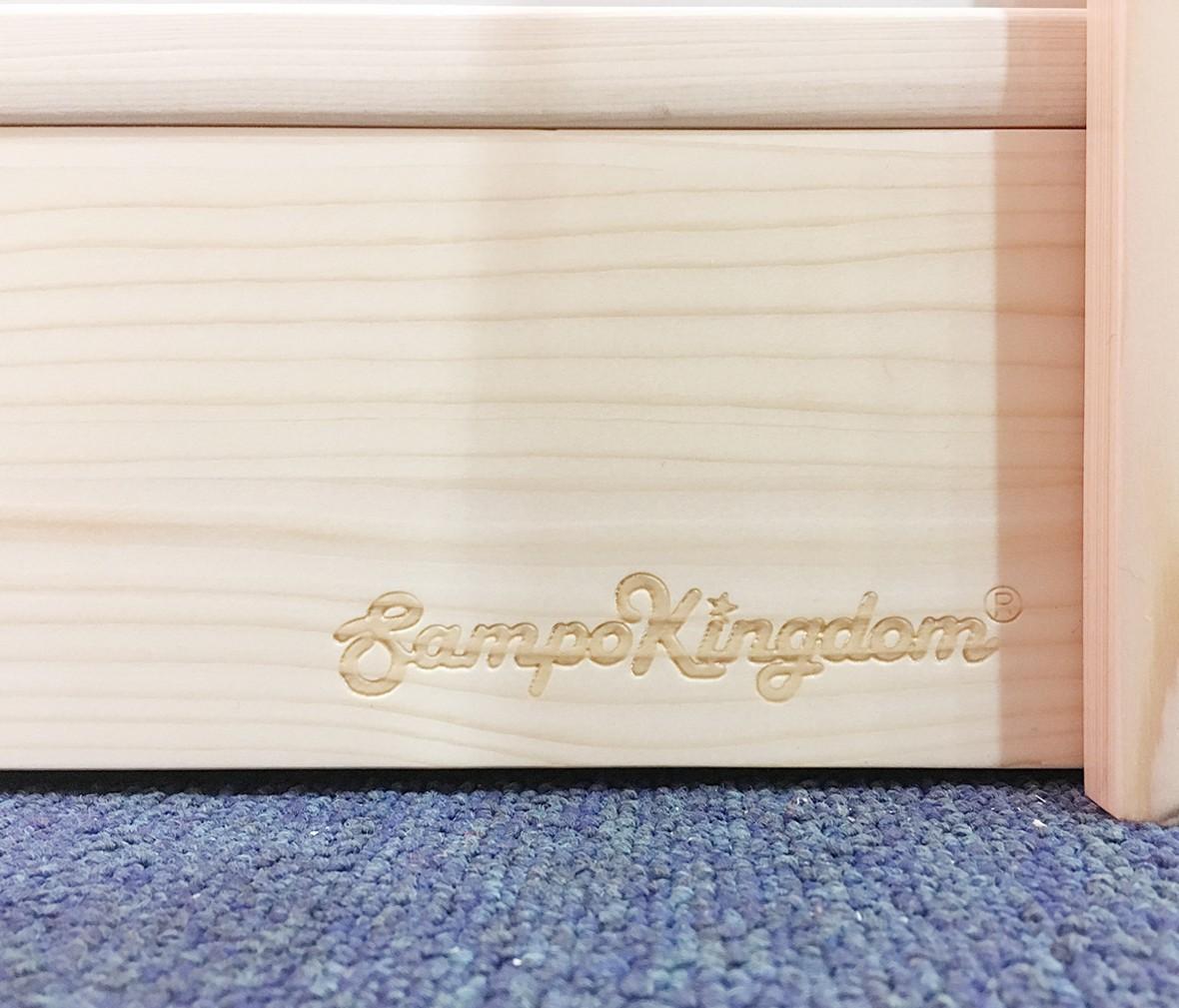 松堡王国 SP-A-G003型号实木衣柜 芬兰松木材质儿童家具