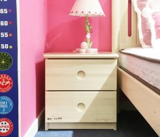 松堡王国,床头柜,实木家具