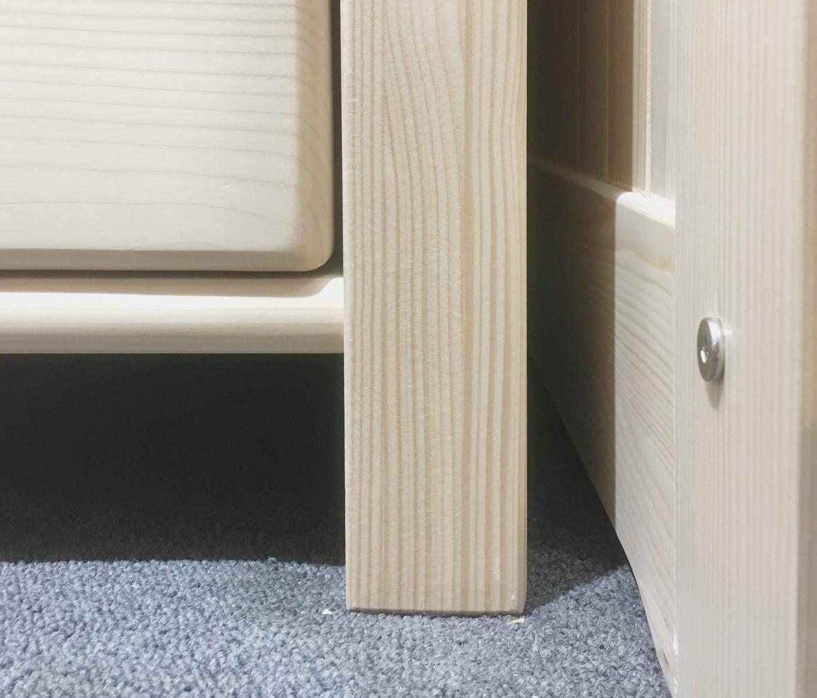 松果儿童家具 PI01-SS型号斗柜 芬兰进口实木斗柜
