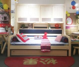 松果,功能床,儿童家具