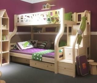松果,儿童家具,上下床