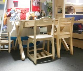 松果,功能书桌,实木书桌