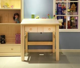 松堡王国,斜面书桌,实木书桌