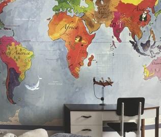 格莱美,纯纸墙纸,纯纸壁画