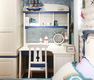 普罗城堡,书桌架,实木家具