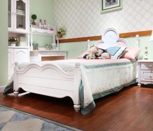 普罗城堡,床架,实木床