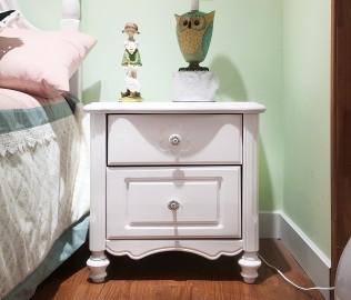 普罗城堡,床头柜,实木家具