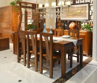 莫霞,餐椅,实木家具