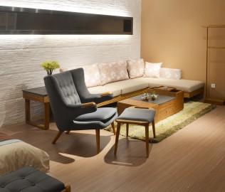 米夏,休闲椅,实木家具